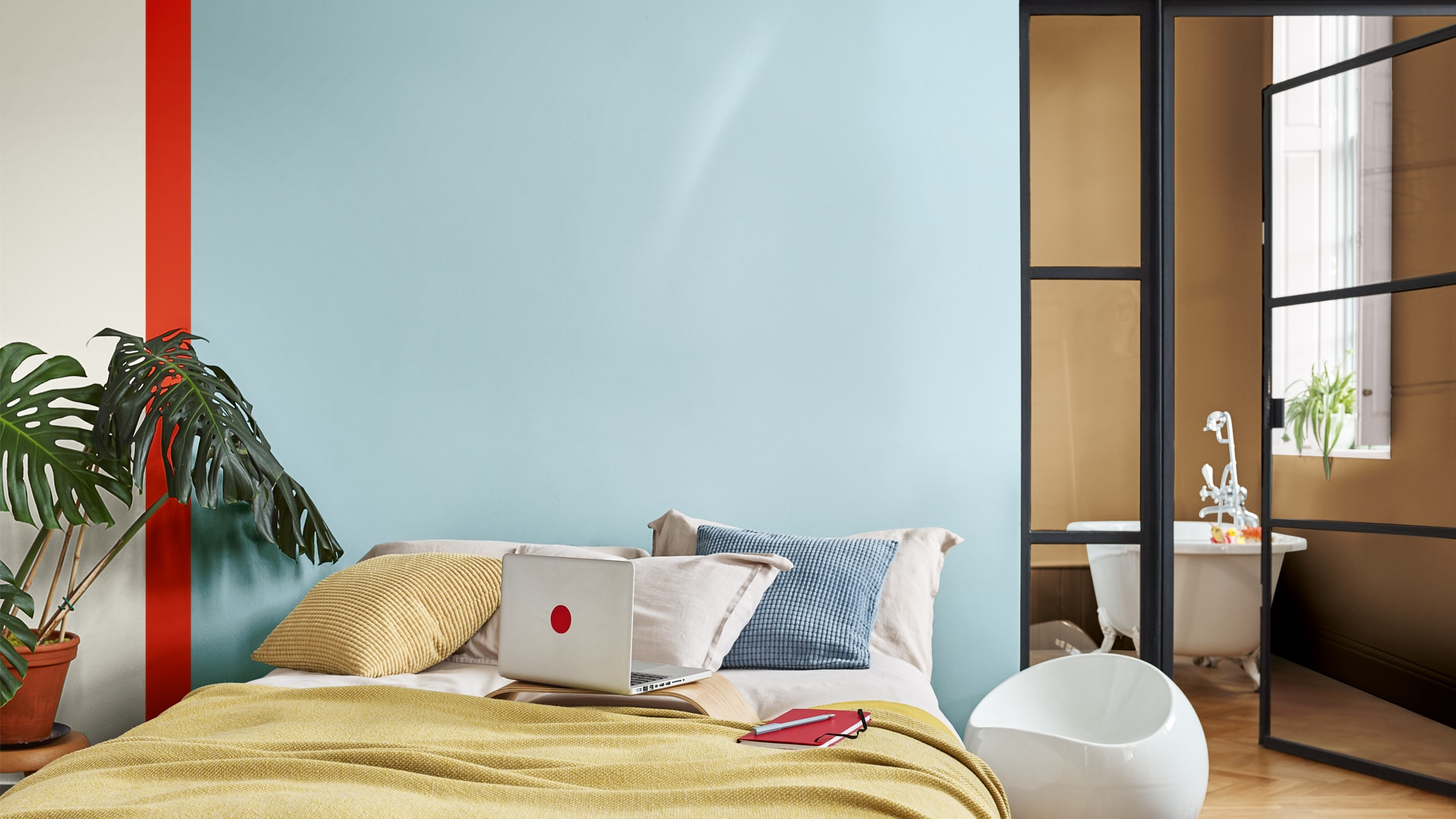 Deco-Paints-Colour-Futures-Colour-of-the-Year-2019-A-place-to-act-Bedroom-Inspiration-14