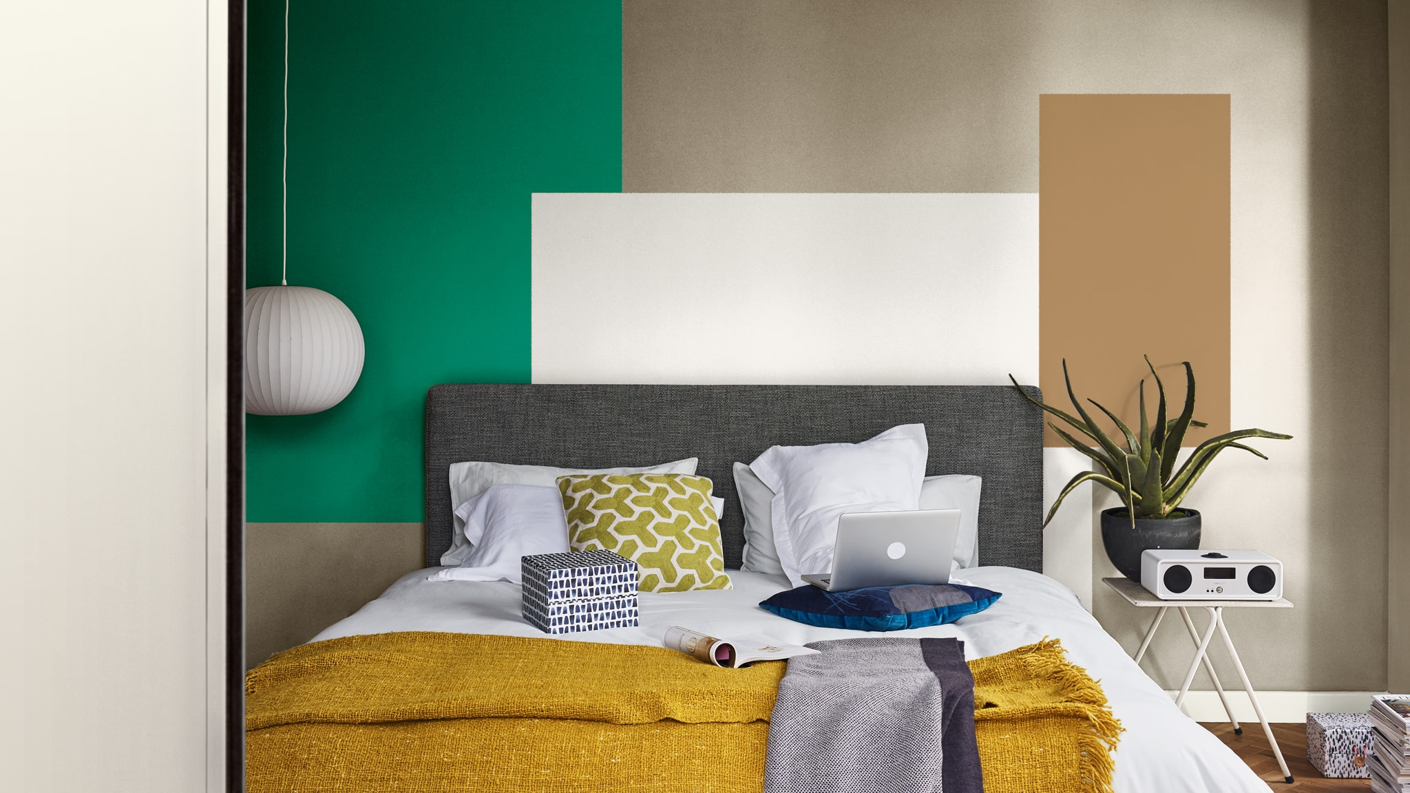 Deco-Paints-Colour-Futures-Colour-of-the-Year-2019-A-place-to-act-Bedroom-Inspiration-39
