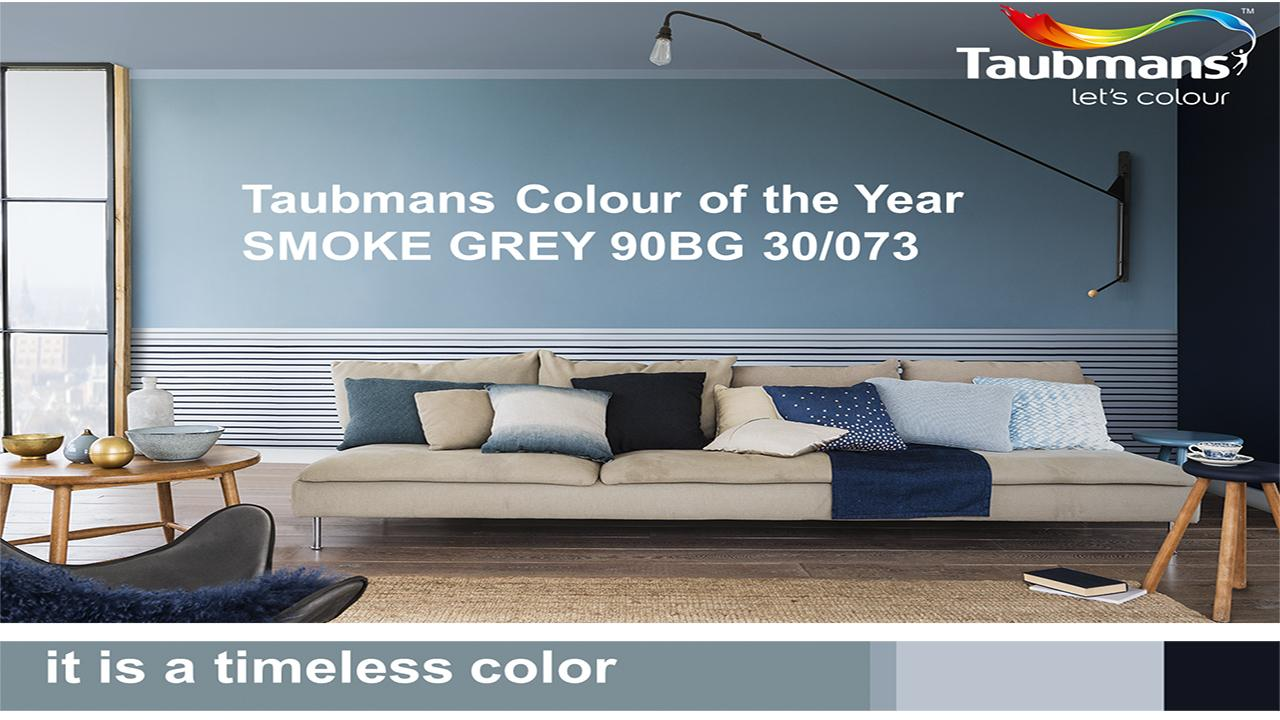 The colour of the year 2017 is SMOKE GREY.  Perfectly capturing the mood of the moment, it is a timeless and versatile blue that takes on a different characteristic depending on the light, colour combination and situation.