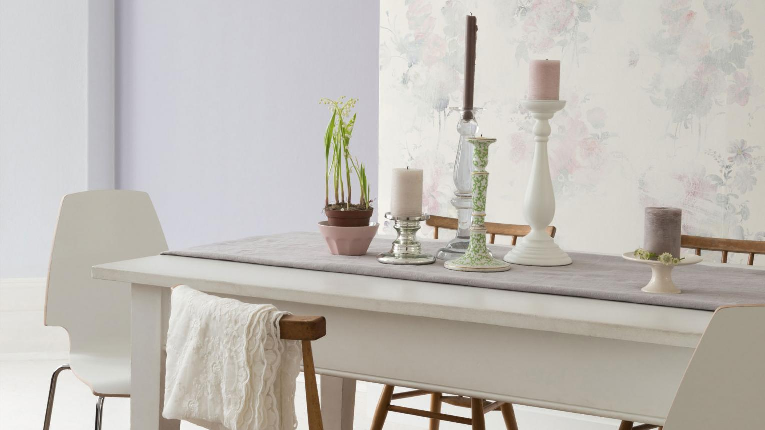 Romantic but enigmatic, the 'Secret Garden' colour trend is perfect for creating soothing spaces within your home.