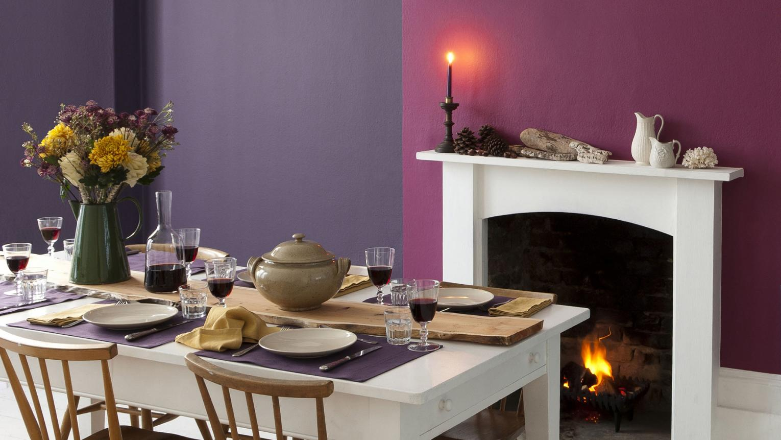 Feeding the family? Entertaining the crowds? Use colour to create a warm dining room that radiates warmth.