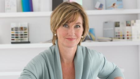 Heleen van Gent, one of the design experts who predicts colour styles that influence how we decorate our homes.
